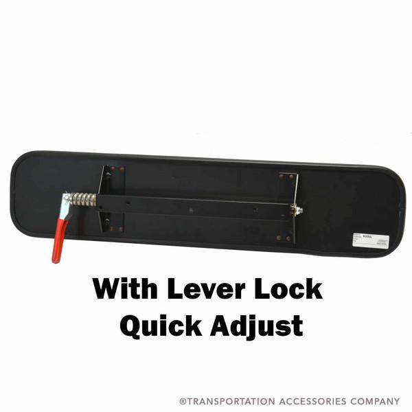 630ll Driver Mirror W Lever Lock 6 Quot X 30 Quot